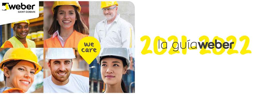 Guía Weber 2021. Novedades y soluciones para el profesional de la construcción