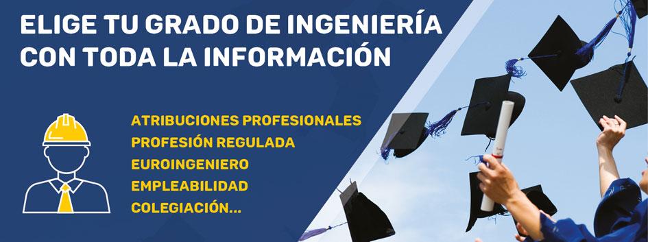 """El 50% de los títulos de Grado en Ingeniería no dan acceso a profesión regulada. El COGITI habilita una """"Guía de Titulaciones"""" con la información"""