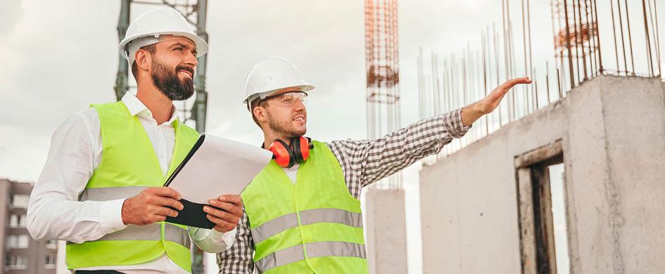 La construcción de obra civil recupera la cifra de negocio a nivel prepandemia