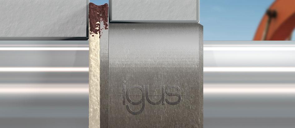 IGUS presenta un nuevo concepto de sellado para una doble protección contra la suciedad de los cojinetes de fricción