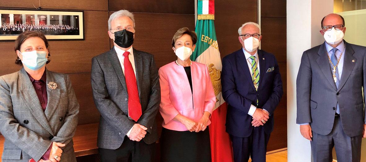 La Real Academia de Ingeniería de España y la Academia de Ingeniería de México firman el primer acuerdo iberoamericano del sector