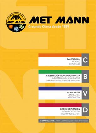 Catalogo de MET MANN