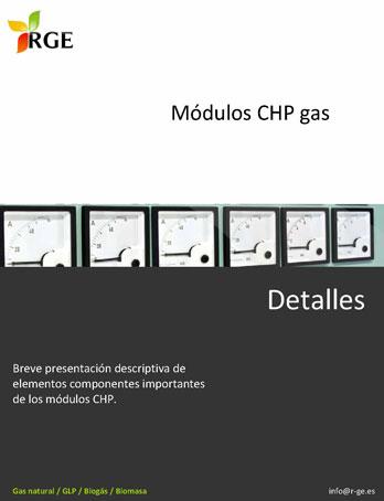 Documento de RGE. Módulos CHP gas