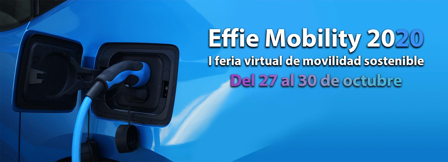 Effie Mobility 2020 - I Feria Virtual de la Mobilidad Sostenible