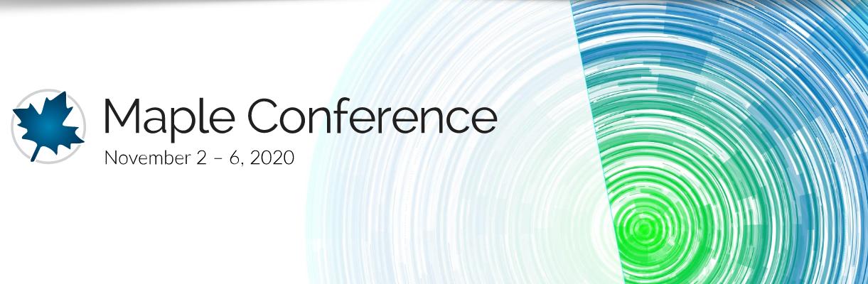 WWW - Congreso: Maple Conference 2020