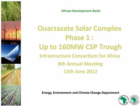 Documento de Proyecto solar de Uarzazate