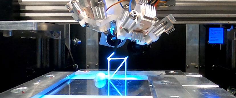 Fabricación en el espacio exterior con gravedad cero mediante Impresión 3D (igus)